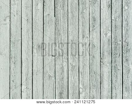 Old Worn Wood Planks Texture, Village Fence Background