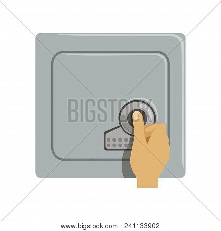 Safe Metal Armored Box, Hand Opening Electronic Combination Lock, Safety Business Box Cash Secure Pr