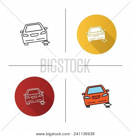 Portable Car Jack Vector & Photo (Free Trial) | Bigstock
