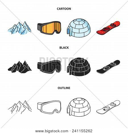 Mountains Goggles Vector Photo Free Trial Bigstock