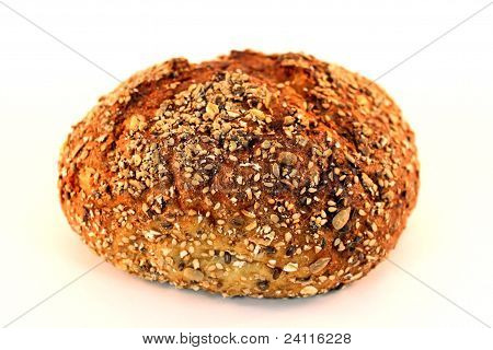 Whole Grain Round Bread