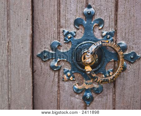 Ornamental Door Handle Ring