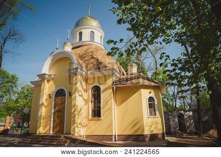 Odessa, Ukraine - May 1, 2015: Ukrainian Orthodox Christian Church Of Saint Luka And Great Martyr Va