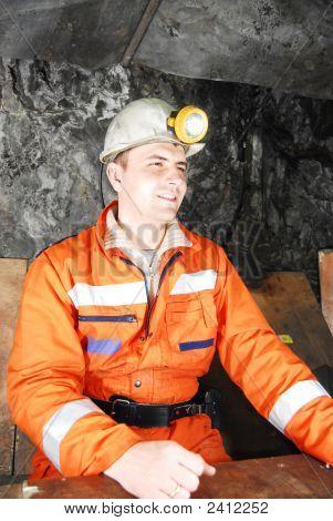 Smiling Miner