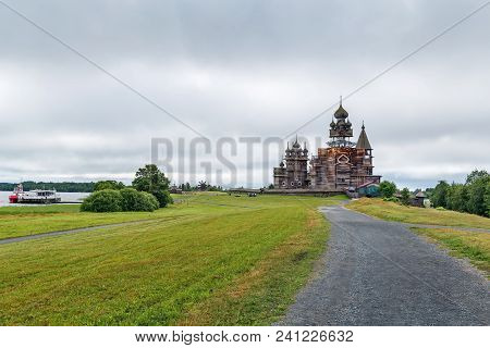 Historical Site Dating From The 17th Century On Kizhi Island, Russia