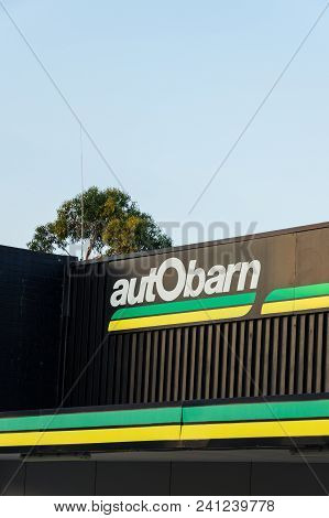 Leongatha, Australia - January 28, 2018: Autobarn Store In Leongatha In South Gippsland. Autobarn Is