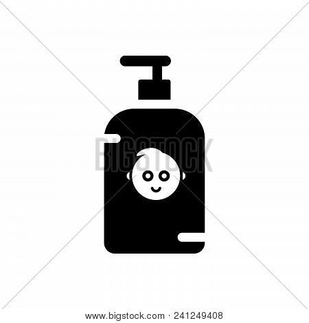 Child Soap Vector Icon On White Background. Child Soap Modern Icon For Graphic And Web Design. Child