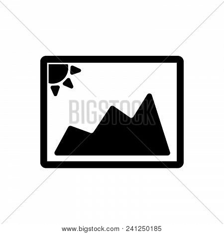 Photo Vector Icon On White Background. Photo Modern Icon For Graphic And Web Design. Photo Icon Sign
