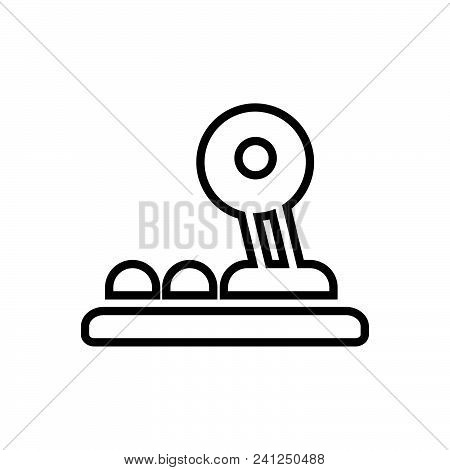 Game Pad Vector Icon On White Background. Game Pad Modern Icon For Graphic And Web Design. Game Pad