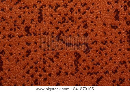Saturated Orange Textile Background. High Resolution Photo.