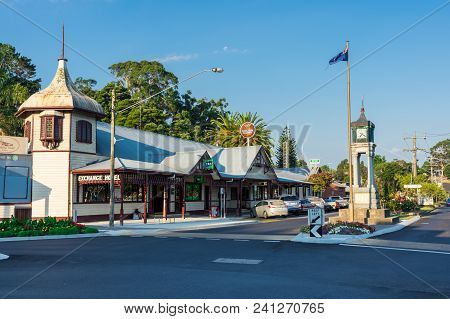 Foster, Australia - January 28, 2018: Foster Is A Dairy And Farming Town In South Gippsland. The Exc