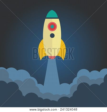Start Up. Concept Of New Business Project Start-up Development And Launch A New Innovation Product O