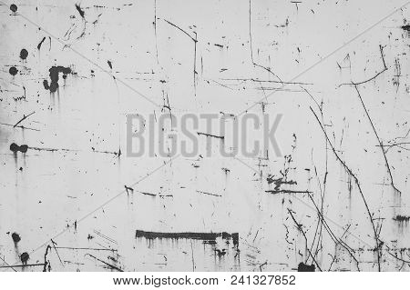 Abstract Vector Illustration. Metal Background With Rust. Rust Stains. Corroded Spots On The Metal S