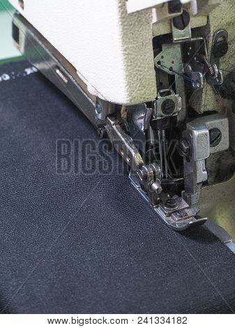 Presser Foot Sewing Machines. Sewing Machine In The Workplace
