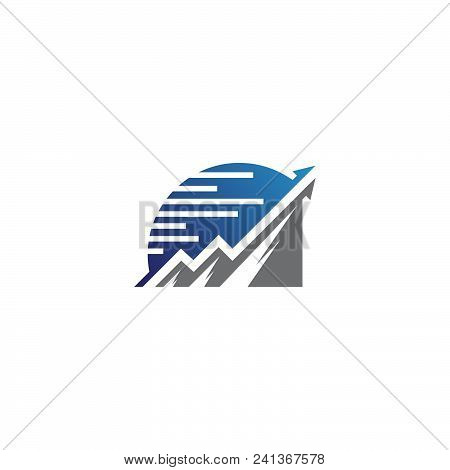Chart And Graphic, Business Diagram Data Finance, Graph Report, Information Data Statistic. Vector I