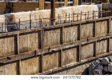 Shielded Steel Formwork For The Construction Of Reinforced Concrete Monolithic Structures