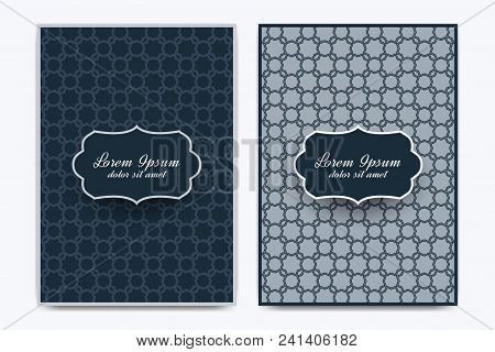 Modern Vector Template For Brochure, Leaflet, Flyer, Advert, Cover, Magazine Or Annual Report. A4 Si
