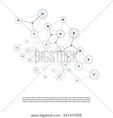 Cloud Computing, Networks Structure, Telecommunications Concept Design, Network Connections With Tra