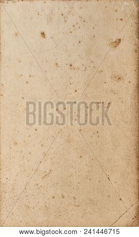Used Paper Sheet Texture. Empty Cardboard Background