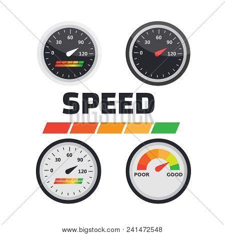 Gauge Chart Meter  Vector & Photo (Free Trial)   Bigstock