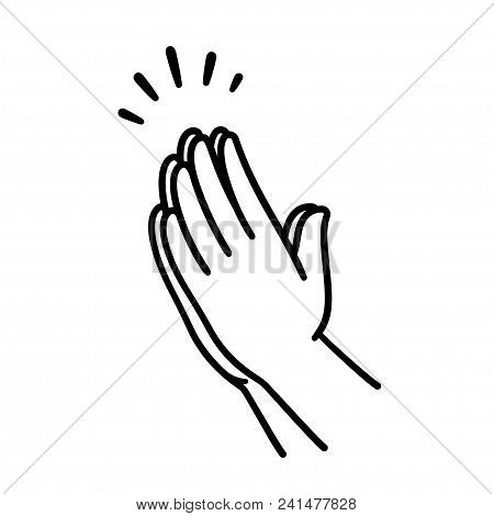 Praying Hands Drawing Vector Photo Free Trial Bigstock