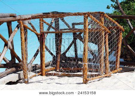 Zanzibar, Nungwi: Beach Soccer Goals