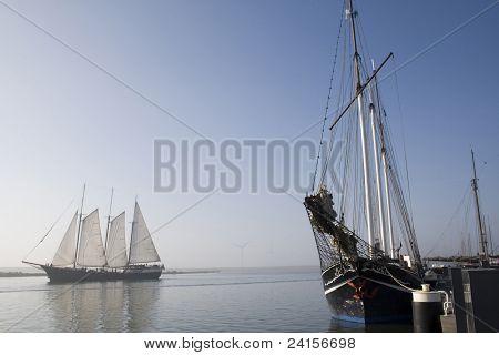 Sailingships In Enkzhuizen