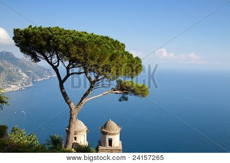 Amalfi Coast As Seen From Ravello