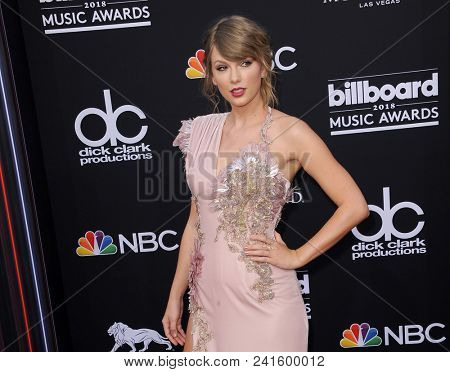 Taylor Swift at the 2018 Billboard Music Awards held at the MGM Grand Garden Arena in Las Vegas, USA on May 20, 2018.