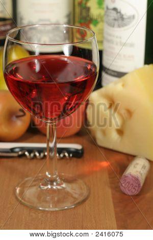 Wine, Fruit & Cheese