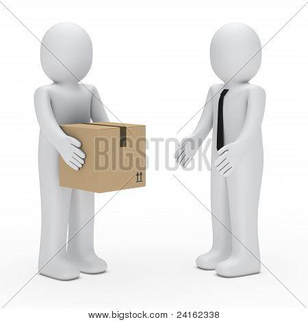 3D Man Pack Business