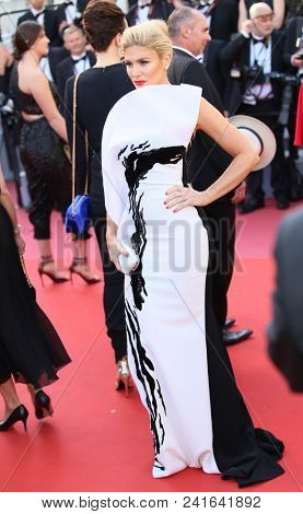 Hofit Golan attends Closing Ceremony during the 71st  Cannes Film Festival at Palais des Festivals on May 19, 2018 in Cannes, France.