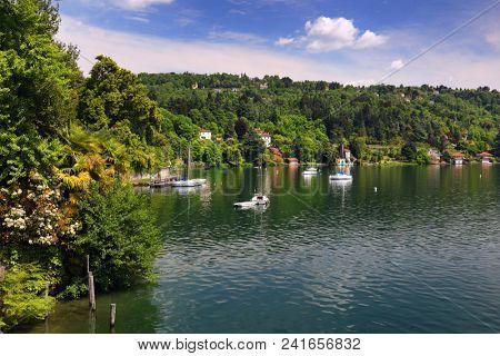 Orta San Giulio, famous resort on the western shore of Orta Lake, Italy, Europe
