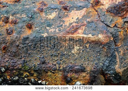 Rusted Metal Texture. Perfect For A Grunge Style Background.