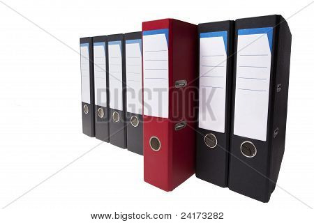 Outstanding Red Ringbinder