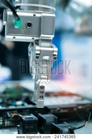 Pneumatic input to robot handle grip handle poster