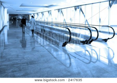 Rolltreppe Business hall