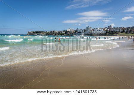 Bondi Beach, Sydney, New South Wales, Australia, 4th April 2018 - Bondi Beach, New South Wales, Aust
