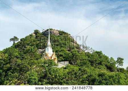Khao Takiab Temple On Khao Takiab Mountain (also Known As Monkey Mountain Or Chopstick Mountain), Hu