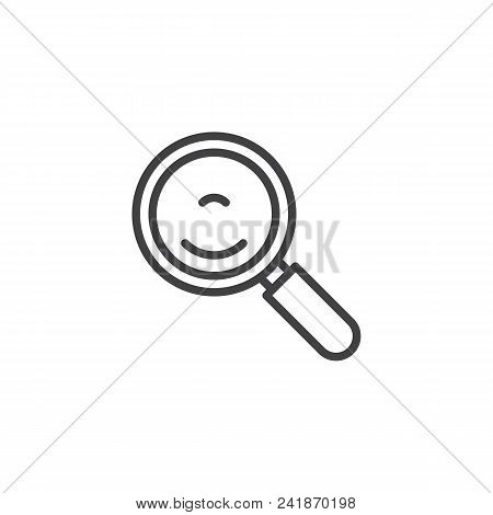 Wok Pan Outline Icon. Linear Style Sign For Mobile Concept And Web Design. Frying Pan Simple Line Ve