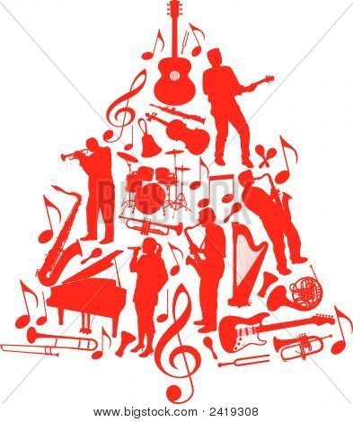 Music Christmas Tree-0711127.Eps