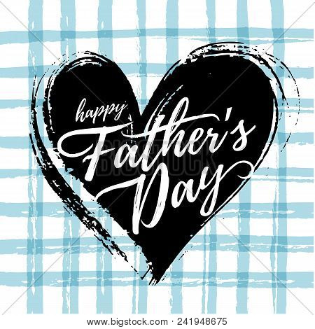 Vector Fathers Day Card Design