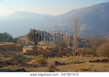 Dana Village In The Dana Biodiversity Nature Reserve In Jordan, Middle East