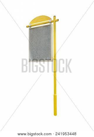 Street Signpost Photo Isolated On White Background