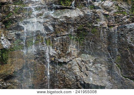 Texture Of Wet Stone.
