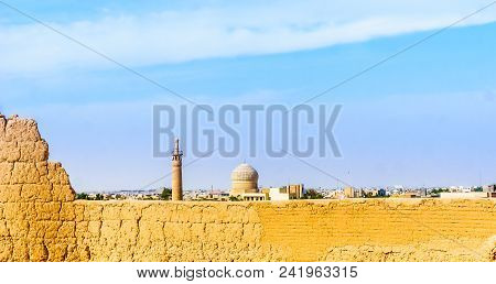 View On Tower Of Mosque In Maybod - Iran