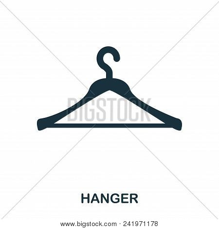 Hanger Icon. Flat Style Icon Design. Ui. Illustration Of Hanger Icon. Pictogram Isolated On White. R