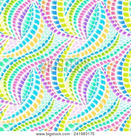 fb3d325bd03e Boho Tie-dye Pattern. Native Textile Design. Ikat Fabric Effect. Hippie  Style