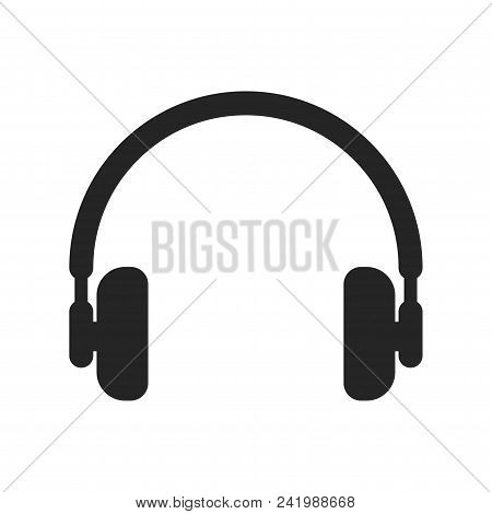 Headphones Icon Simple Vector Sign And Modern Symbol. Headphones Vector Icon Illustration, Editable