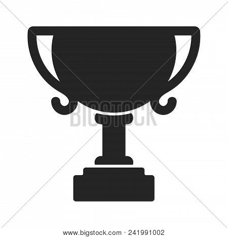 Trophy Icon Simple Vector Sign And Modern Symbol. Trophy Vector Icon Illustration, Editable Stroke E